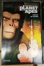 "Sideshow Planet of the Apes - Caesar Exclusive 12"" Sixth Scale Figure"