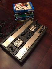 Intellivision Game System And Games In Boxes
