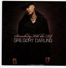 (FI102) Gregory Darling, Somebody Kill The DJ - 2010 DJ CD