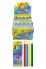 Packs 4 Mini Colouring Pencils Lucky Dip Party Bag Toys Fillers 1 to 240 Pack UK