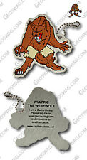 Werewolf Cache Buddy (Travel Bug) For Geocaching