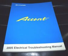 2005 HYUNDAI ACCENT ELECTRICAL SERVICE WORKSHOP SHOP REPAIR MANUAL OEM BOOK