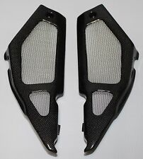 Aprilia Tuono 1000R 2002-2005 Side Panels - Plain Weave Carbon Fiber