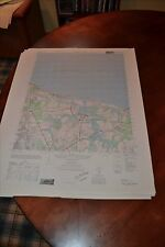 1940's Army topographic map Ocean View Virginia -Sheet 5757 I SE
