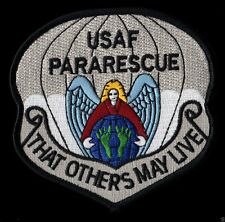 USAF PARARESCUE - THAT OTHERS MAY LIVE - PJ'S CSAR - COMBAT RESCUE - USAF PATCH