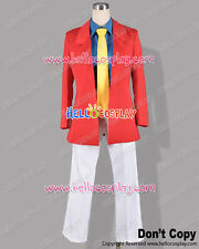 Lupin III The Third 3rd Cosplay Arsene Lupin Costume Red Ver H008