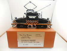 The Car Works O Scale Brass Sacramento Northern GE-ALCO Steeple Cab #654 in Box