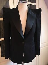 **BALMAIN** Iconic Peaked Shoulder Jacket Blazer