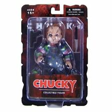 "Child's Play Bride CHUCKY Good Guy SCARS 5"" Action Figure w Knife Gun Mezco Toyz"
