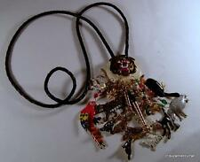 Gorgeous! Hand Signed LATR Lunch at the Ritz OUT of AFRICA Safari Bolo Necklace