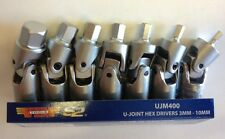 Vim 7 Piece U Joint Hex Drivers 3mm-10mm