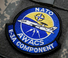 NATO E-3A COMPONENT Airborne Warning 'n Control System AWACS in Afghanistan SSI