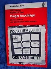 """""""Prager Anschläge"""" von Franz Goess und Manfred R. Beer"""