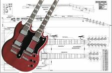Gibson EDS® Double-Neck Electric Guitar Plan