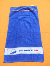 FIFA WORLD CUP 1998 Serviette Towel Toalla France True Vintage Official Licence