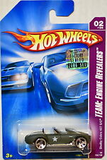 HOT WHEELS 2008 TEAM ENGINE REVEALERS SHELBY COBRA 427 S/C #02/04 FACTORY SEALED