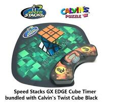 Speed Stacks GX EDGE Cube Timer bundled with Calvin's Twist Cube @ HK NOW STORE