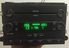 2006 2007 Ford Five Hundred 6 Disc MP3 CD Player Radio 6G1T-18C815-AC OEM