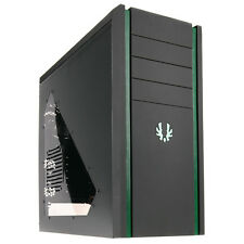 BitFenix Shinobi Black/ Green Gaming PC Case USB3.0 BFC-SNB-150-KKWGG-RP