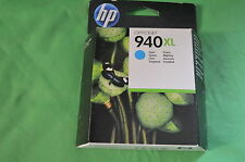 HP 940XL Cyan Ink Cartridge C4907A C4907AE Genuine Original  Date July 2014