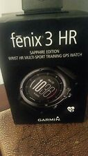 Garmin fenix 3 HR GPS Watch Brand new Never used