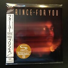For You by Prince (SHM-CD, 2012, Mini-LP, LTD, Warner Music Japan)