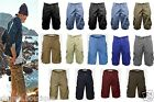 MEN'S AMERICAN EAGLE BRAND KNEE LENGTH LOT 100% COTTON SUMMER CARGO SHORTS