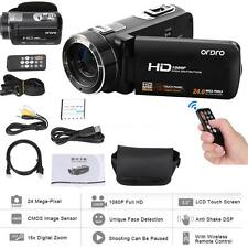 ORDRO HDV-Z8 1080P HD 16X LCD Digital Video Camera Camcorder+Face Detection M6W9