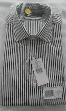 Men's Ralph Lauren Shirt - Black & White Stripe - 16'' Collar BNWT