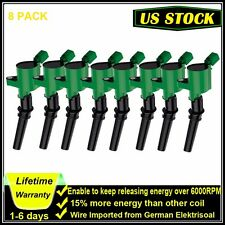 8Pcs Super Ignition Coil Ford F150 Expedition 5.4L V8 Lincoln Mercury DG508 US