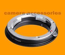 Macro Leica M LM Lente A Nikon F Mount Adattatore Fotocamera Anello d3400 d500 d5 d7200