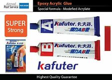 KAFUTER Epoxy Acrylic Adhesive Glue Plastic Car Vehicle Motorcycle Glass Ceramic