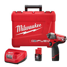 """Milwaukee Electric Tool 2452-22 M12  Fuel 1/4"""" Square Drive Impact Driver"""
