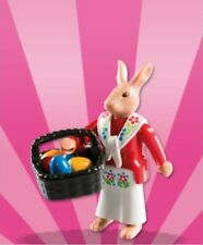 Playmobil Mystery Figure Series 8 5597 Easter Bunny Rabbit with Basket & Eggs