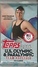2016 Topps U.S. Olympic & Paralympic Team Hopefuls Relic-Medal-Patch-Auto