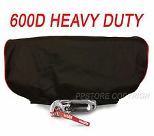 Waterproof Winch Dust Cover Driver Recovery LD12 ELITE X12 TITANIUM w/ RED Str-4
