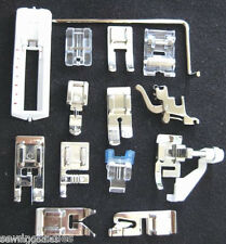 New 14 Snap-On Presser Foot Set for VIKING HUSQVARNA (5-7) cat Sewing Machines
