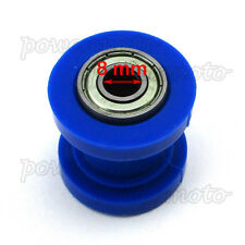 8mm Chain Roller Tensioner For Chinese XR CRF 50 SSR KLX110 Pit Dirt Bike Blue