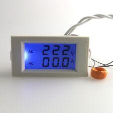 Digital AC 50A 100-300V Voltmeter Ammeter Volt Panel Meter Voltage ampermeter WD