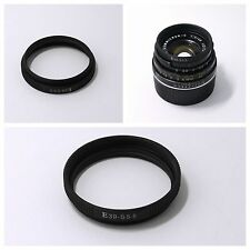 Adapter Ring Leica E39 to Summicron-C 40/2 -39mm (S5.5) f/2.0 Lens camera