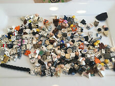 8 Ounces Lego Star Wars Minifig parts Damaged Faded Cracked minifigures Lot W273