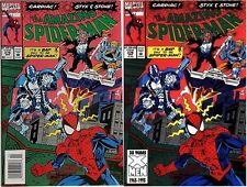 AMAZING SPIDERMAN 376 NM DIRECT OR NEWSSTAND CARDIAC