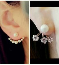FemNmas COMBO OFFER EAR JACKET |Ear cuff | Double Side Ear cuff Earrings | 2 pc