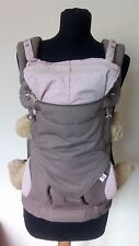 Ergonomic Baby Carrier 4 Ergo positions 360 model - Taupe & Lilac
