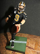 "DREW BREES, SAINTS, SERIES 14, BLACK JERSEY, LOOSE FIGURE,  6"" McFARLANE  NFL"