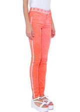 MAISON MARTIN MARGIELA MM6 ORANGE BANDANA PRINT SKINNY JEANS *IT 38/UK 6* BNWT