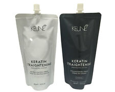 Keune Keratin Straightening Cream Rebonding System NORMAL 400ml FREE SHIPPING