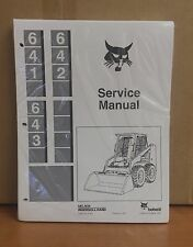 Bobcat 641 642 643 Repair Skid Steer Loader Complete Shop Service Manual 6566135