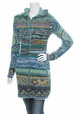 KOOI KNITWEAR HOODED LAMMWOLLE ZIP CARDIGAN STRICK  STRICKJACKE NEW WITH TAGS