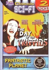 THE DAY OF THE TRIFFIDS + FANTASTIC PLANET 2 MOVIES SCI FI SEALED ALL REG DVD